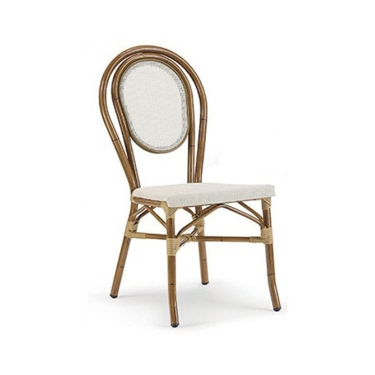 Chair Bamboo beige