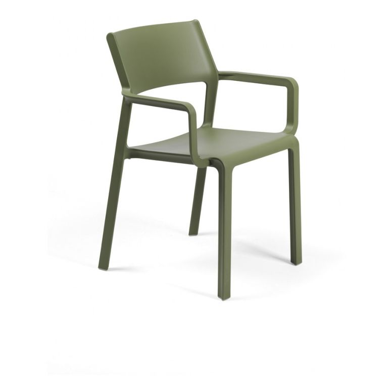 Garden chair Trill R olive green